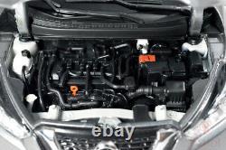 118 Nissan Kicks 2017 Diecast Miniature Metal Model Car Grey Vehicle Toy Gifts