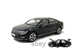 118 Volkswagen Magotan Black Passat B8 2017 Diecast Metal Model Car Toy Vehicle