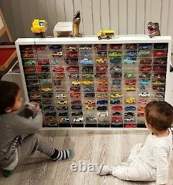 120 Model Matchbox Corgi Toy Die Cast Car Vehicle Display Frame Rack Stand Tidy