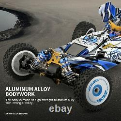 124017 Brushless Upgraded 1/12 2.4G 4WD 75km/h RC Car Vehicles Metal Chassis Toy