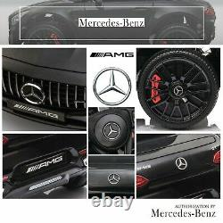12V Kids Ride On Car Mercedes-AMG GT Electric Motorized Vehicle withRemote MP3 New