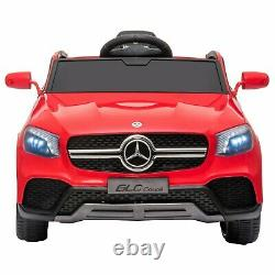 12V Kids Ride On Vehicle Car Licensed Mercedes Benz GLC withRemote Control Red
