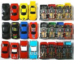 1992 TYCO TCR Wide Pan Slot less Car UNUSED Sharp! Ready toRun Sweet 12 CAR SET
