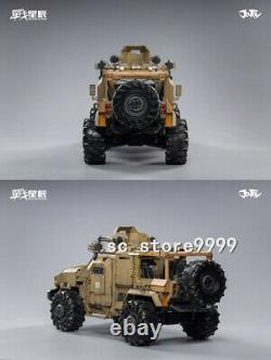1/18th JOYTOY JT0692 Crazy Reload SUV Car Military Vehicle Props Figure Toy