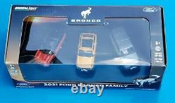 2021 Ford Bronco Family 164 3-Vehicle Diecast Set Greenlight