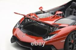 AUTOart Lamborghini Aventador J (Metallic Red) 74673 1/18