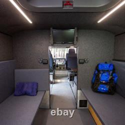 Amphibious Car All-Terrain Vehicle 6x6 With Living Module 800 Liters Capacity