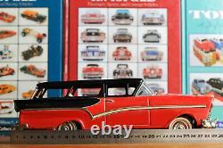 #Antique Tin Toy# Japanese Bandai Ford Fairlane Ranchwagon Station Car Japan Old