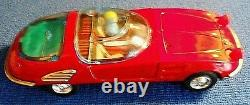 BANDAI 12 BUMP N GO BATTERY OPERATED CAR w WORKING MOTOR AND RETRACT HEADLAMPS