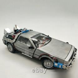 Back To The Future Vehicle 118 Time Machine DMC-12 Car Model Collectible Gifts