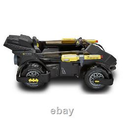 Battery Powered Car For Kids Batmobile Ride On Toy 6V Electric Toddler Vehicle
