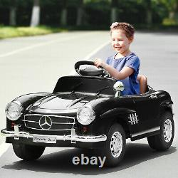 Battery Powered Car For Kids Ride On Toy 6V Electric Benz Toddler Vehicle New