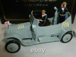 Britains Premier 8925, Royal Navy Air Service Armoured Car with Crew and Gun