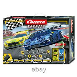 Carrera Go! Victory Lane 143 Scale Slot Car Racing System with2 Vehicles Kids 5y+