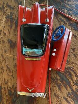 Collectible 1960s Ford Gyron by Cragstan. Remote Control Car Of The Future
