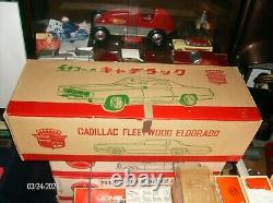 GIANT NOS 28 Tin Ichiko 1967 Cadillac Eldorado Car Japan Collector Grade BEAUTY