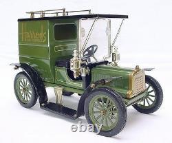George Carette Jan Blenken FORD MODEL T HARRODS TRUCK Tin Toy Car 27cm MIB`80