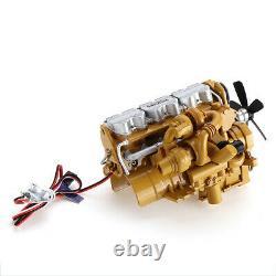 HG 6ASS-P01 Zinc Alloy Diesel Engine 1/12 Carburetor for P602 RC Car Vehicles