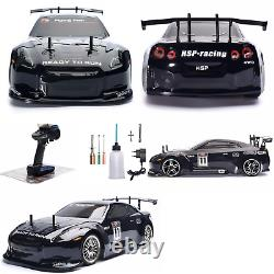 HSP RC Car 110 4WD Two Speed On Road Racing Drift Vehicle Nitro Gas Flying Fish
