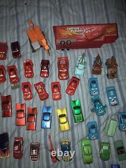 Huge Mixed LOT of 79 Disney Pixar Cars Movie Diecast Vehicle Toy Lighting Mater