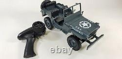 JJRC Q65 Transporter 2.4G 110 Jeep Willy Truck Off-Road Military RC Car RTR Toy