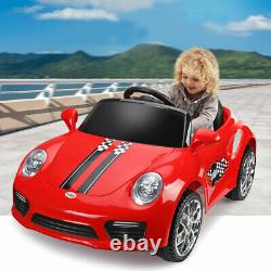 Kids Ride-On Car Electric Battery Powered Vehicle withRemote Control & LED lights