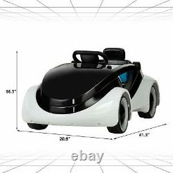 Kids Ride On Cars Electric Battery Motorized Vehicles with RC White
