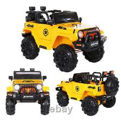 Kids Ride on Car 6V Convertible Style Electric Battery Powered Vehicle WithRemote
