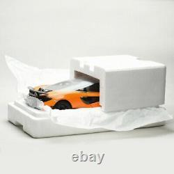LCD Models 118 Scale McLaren 600LT Sports Car Orange Diecast Car Model Vehicles