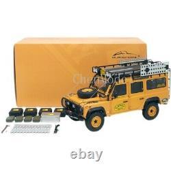 Land Rover Defender 110 Camel Trophy Support Vehicle 1993 Model Car 118 Scale