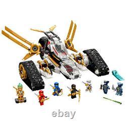 Lego 71739 Ninjago Legacy Ultra Sonic Raider 4-in-1 Ninja Vehicle 725 pcs 9+ yrs