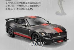 Maisto 1/18 GT500 Mustang Shelby GT Sports Racing Car SHELBY COBRA Vehicle Toy