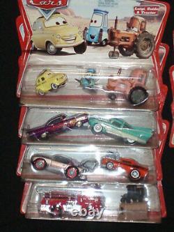 New 2005 Disney Pixar Cars Diecast Series 1 Complete Set 25 Vehicles Collectible