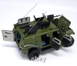 Original Manufacturer 1/18 Scale Dongfeng Motor Military Armored Vehicles Model