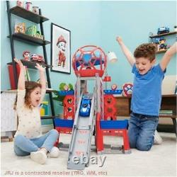 PAW Patrol The Movie Ultimate City Tower Playset Includes 6 Pups & 1 Vehicle