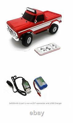 Panda Hobby 1/18 RTR Scale 4x4 4WD Monster Truck Off-Road Vehicle RC Model Car