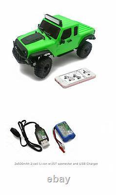 Panda Hobby 1/18 RTR Scale 4x4 Rock Crawler 4wd Off-Road Vehicle RC Model Car