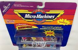 RARE Micro Machines 8 Vehicles 6318 Ultrasmall Insiders MINT SEALED