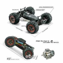 RC Monster Truck Monster Vehicle Truck Remote Control Car Red 1/10 2.4Ghz 4WD
