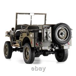 ROCHOBBY 1/6 2.4G 2CH 1941 MB SCALER RC Car Waterproof Vehicle Models Fully Prop