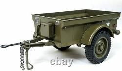 ROCHOBBY Trailer for 1/6 1941 MB Scaler RC Car Vehicle Models ABS