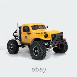 RTR1/10 2.4G 4WD RC Car LED Light Crawler Truck Off-Road Vehicle Model Kids Toys