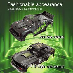 SG 1603 1604 Brushless 60km/h Upgraded RTR 1/16 2.4G 4WD RC Car Drift Vehicles M