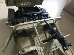 VGIJOE 1/6 Military Alloy Truck Model Hummer Vehicle Car Model Sand Color Toy
