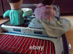 VINTAGE CHINA TIN ROLLS ROYCE 1960's ME 630''PHOTOING ON CAR EXTREMELY RARE