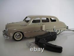 VINTAGE ZIM GAZ 12 TIN TOY BIG CAR USSR limousine REMOTE CONTROLED Russia 1960s