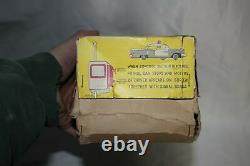 VTG JAPAN HTC OLDSMOBILE HIGHWAY PATROL CAR B/O Original Box Tin Litho Toy Minty