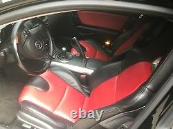 Vehicle sports car Mazda RX8 automobile black 6 speed great condition stereo