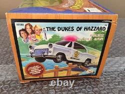 Vintage 1981 Mego The Dukes of Hazzard Police Chase Car With Rosco Coltrane RARE