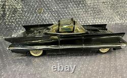 Vintage Alps Lincoln Futura Battery Operated Tin Car w original box Toy 1950s BO